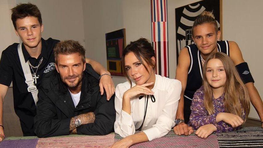 Teile des Beckham-Clans im September 2020