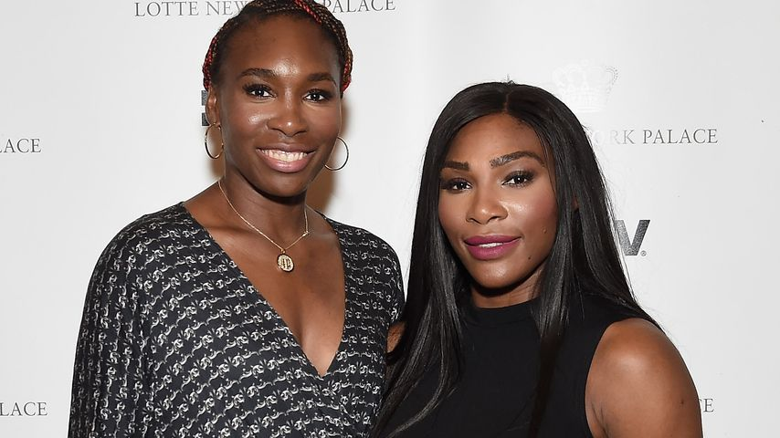 Venus und Serena Williams in New York