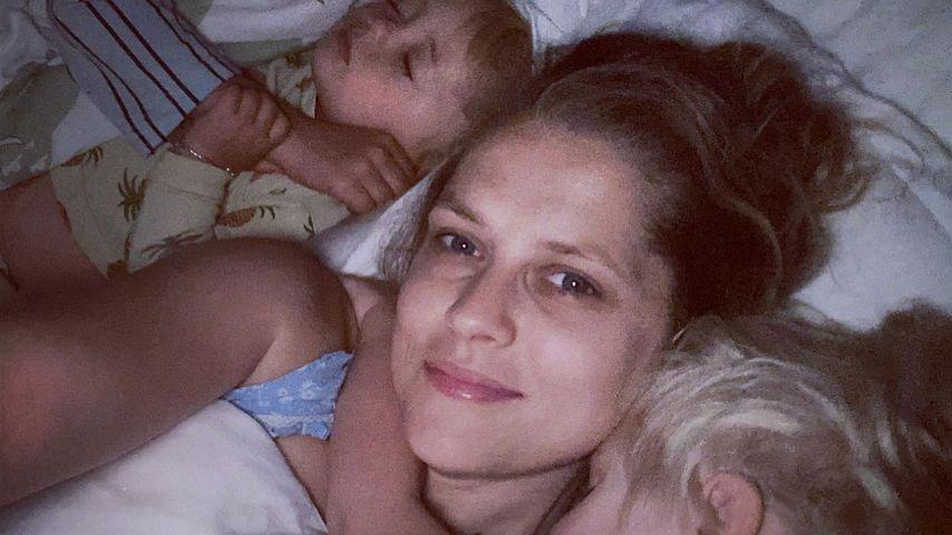 Teresa Palmer mit ihren Kindern, 2020