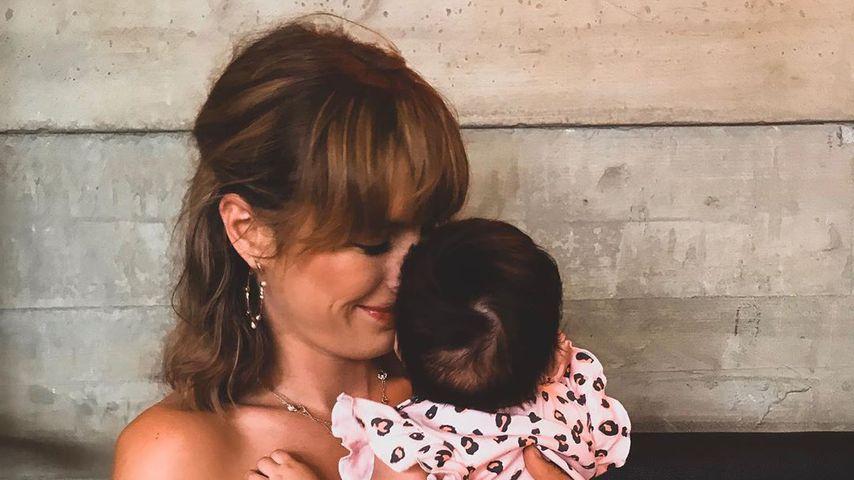 Tessa Bergmeier mit Tochter Camila