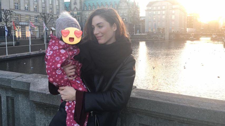 Tessa Bergmeier mit ihrer Tochter Lucy