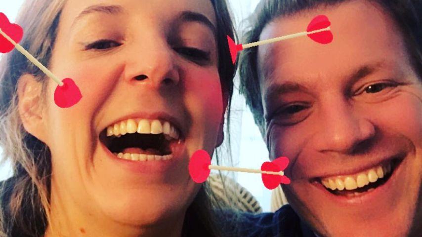 Tessy Antony und ihr Verlobter Frank Floessel