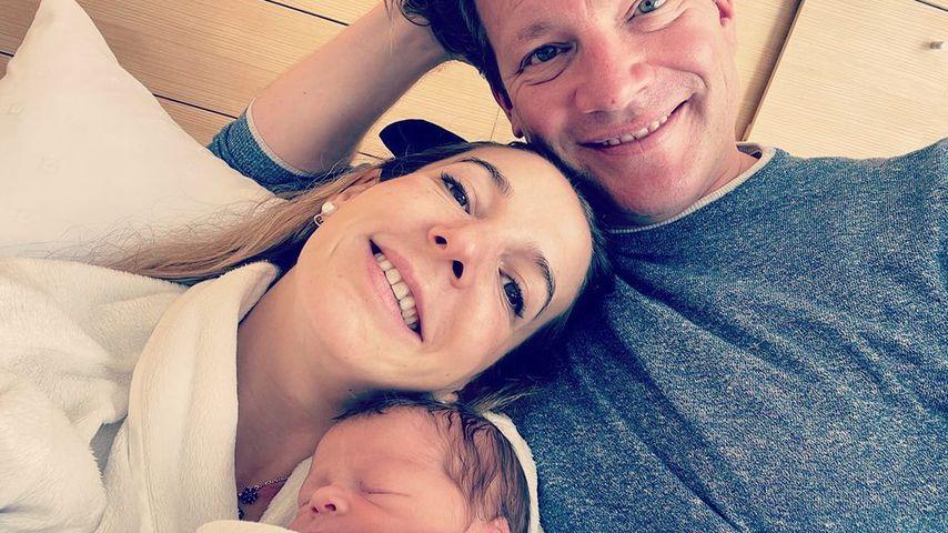 Ex-Prinzessin Tessy Antony zeigt erstes Pic von Baby Theodor