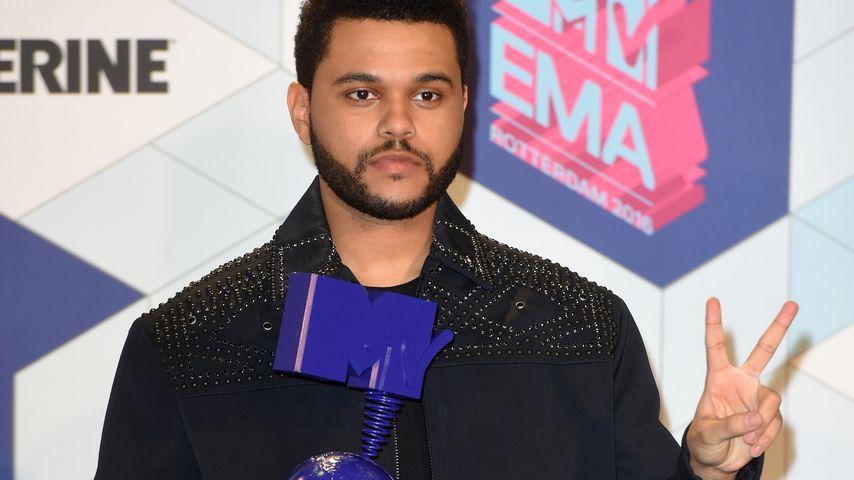 The Weeknd während der MTV European Music Awards 2016
