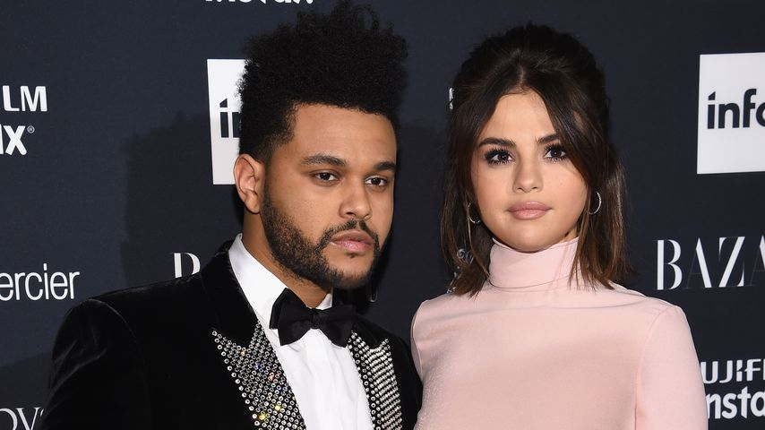 The Weeknd und Selena Gomez bei der Harper's Bazaar Party in New York City