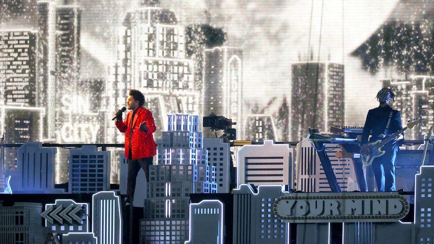 Sänger The Weeknd performt beim Super Bowl