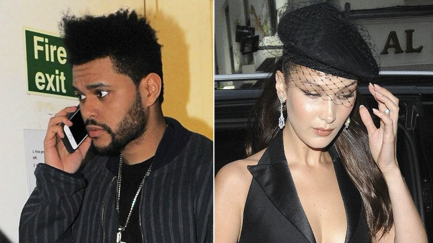 Erwischt! The Weeknd & Bella Hadid bei Romantik-Date-Night!