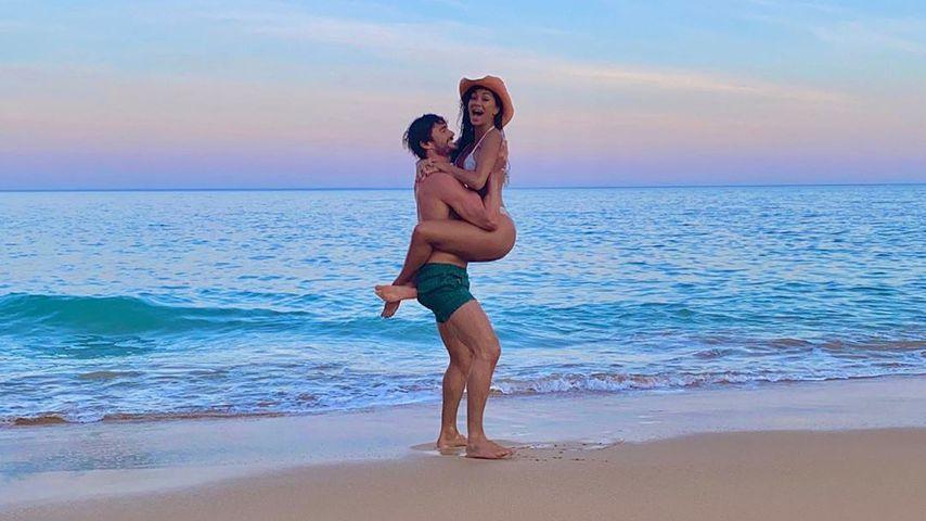 Thom Evans und Nicole Scherzinger im Juli 2020