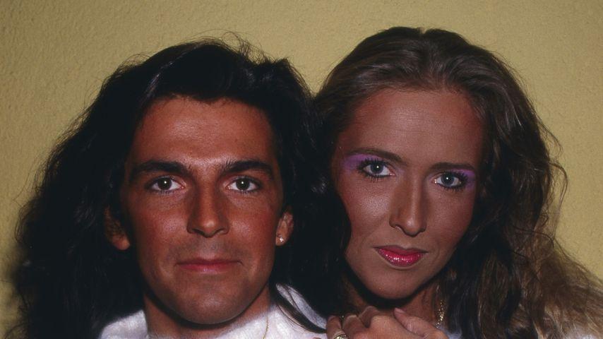 Thomas Anders und seine Ex-Frau Nora, 1987