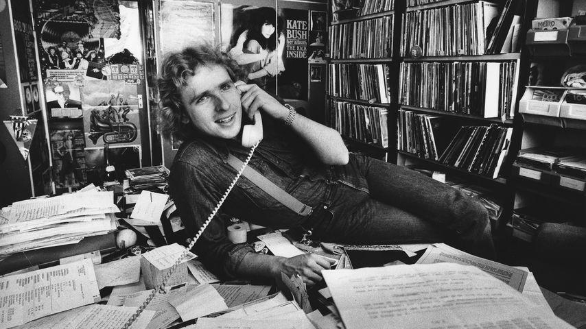 Thomas Gottschalk beim Bayrischen Rundfunk 1981