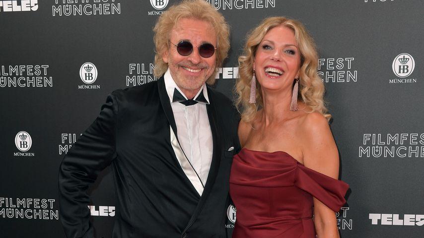 Thomas Gottschalk und Karina Mroß im Juni 2019
