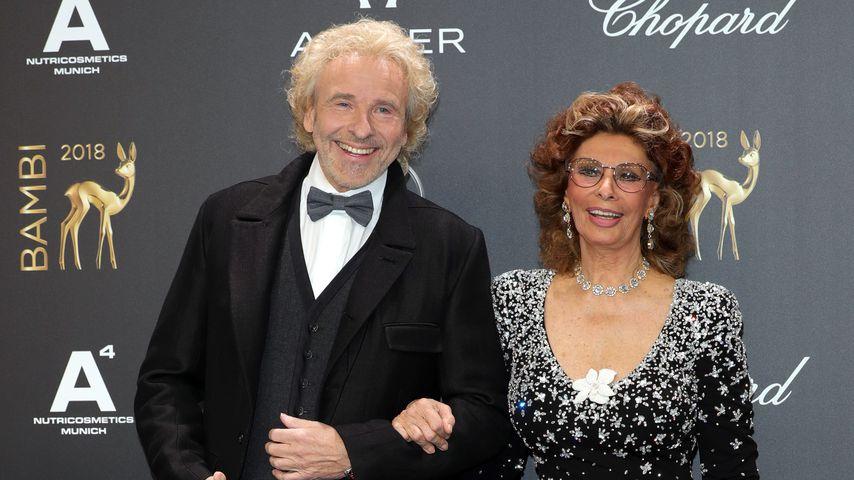 Thomas Gottschalk und Sophia Loren