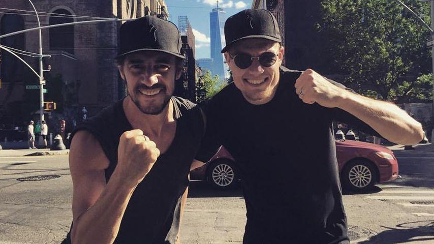 Thomas Hayo und Holger Badstuber in New York