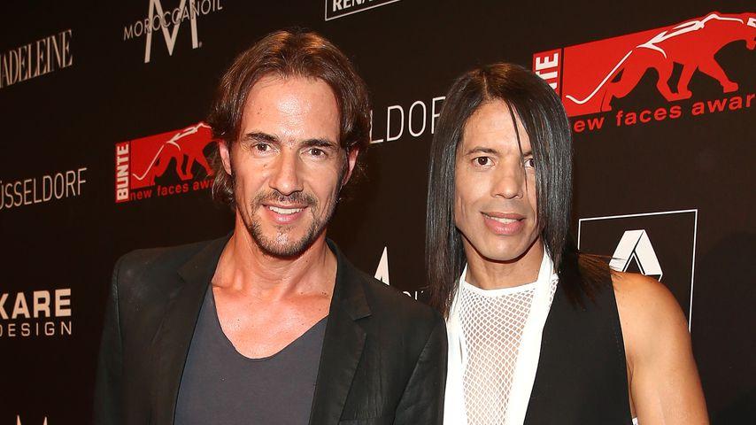 Thomas Hayo und Jorge Gonzalez, Juli 2013