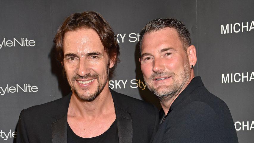 Thomas Hayo und Michael Michalsky 2018 bei der Michalsky StyleNite in Berlin