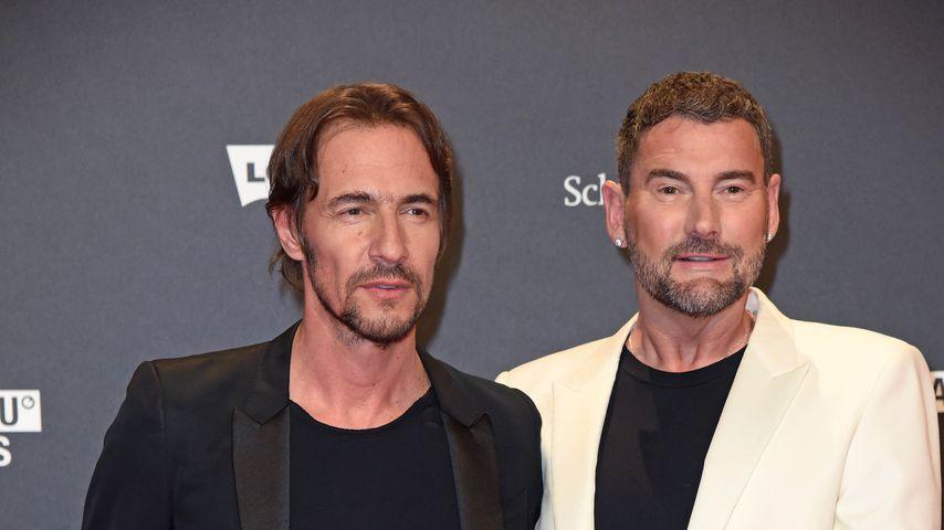 Thomas Hayo und Michael Michalsky bei den ABOUT YOU Awards 2018
