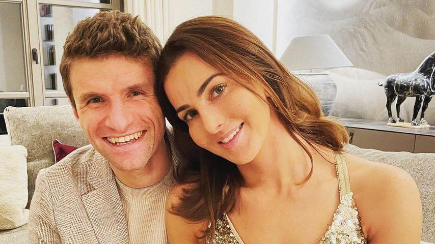 Thomas Müller und seine Frau Lisa Müller im Dezember 2020