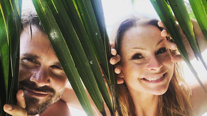 Thore Schölermann und Jana Julie Kilka auf den Seychellen