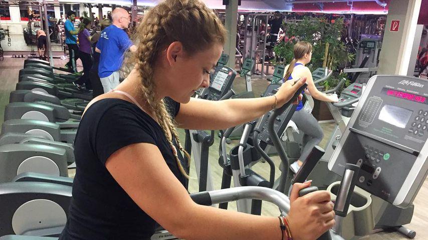 Tiffany Licker im Gym