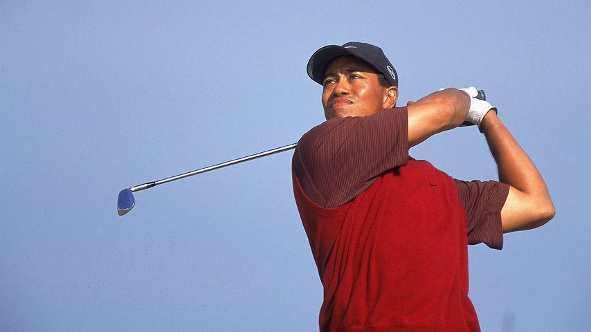 Tiger Woods in Fife, Schottland