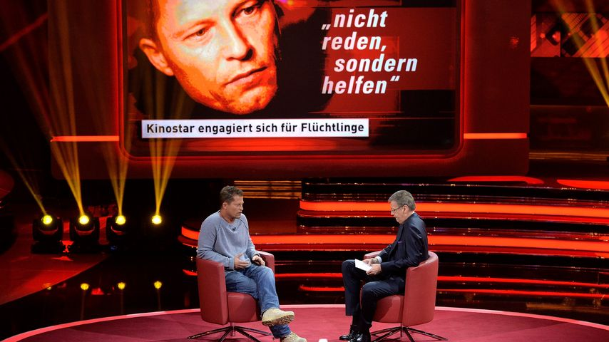 250.000 Euro für Flüchtlinge: Til Schweiger eröffnet Kita!