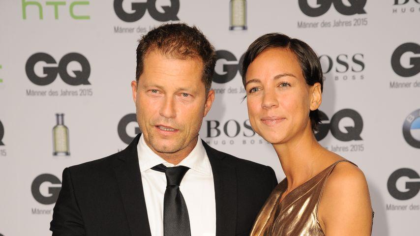 Til Schweiger und Marlene Shirley bei den GQ-Awards