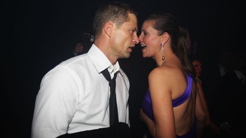 Til und Dana Schweiger bei der Bambi-Verleihung 2008