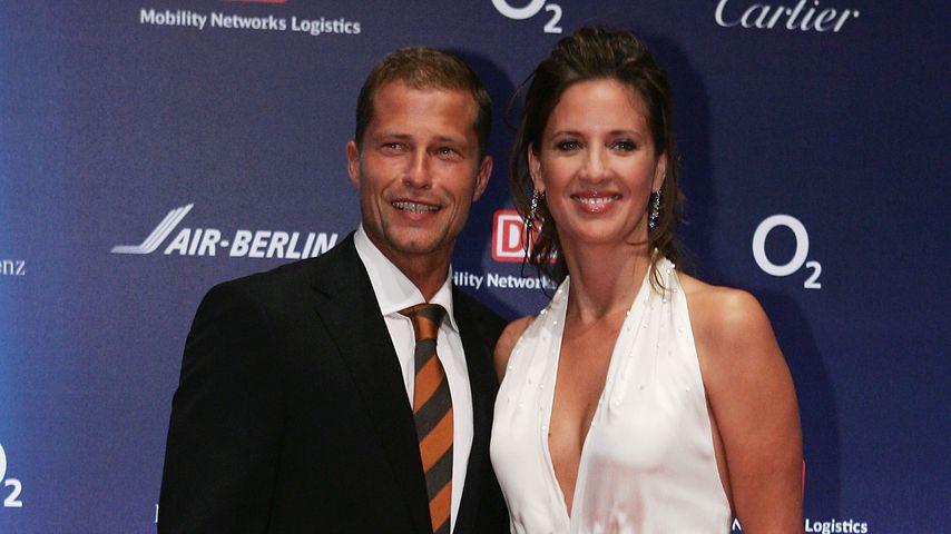 Til und Dana Schweiger bei der Bambi-Verleihung 2005
