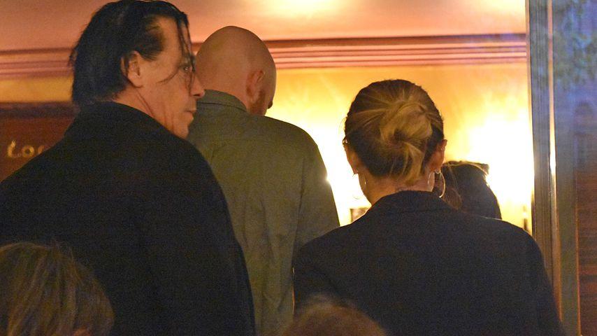 Till Lindemann und Sophia Thomalla im Renaissance-Theater in Berlin