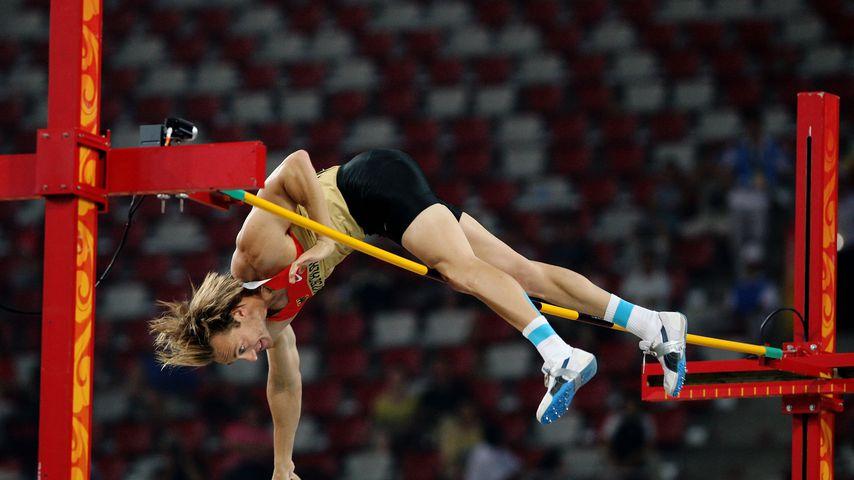 Tim Lobinger bei Olympia 2008