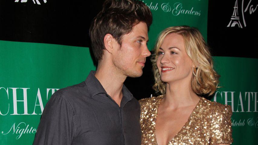 Tim Loden und Yvonne Strahovski in Las Vegas 2011