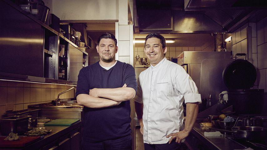 """Tim Mälzer und Tohru Nakamura, """"Kitchen Impossible""""-Köche"""