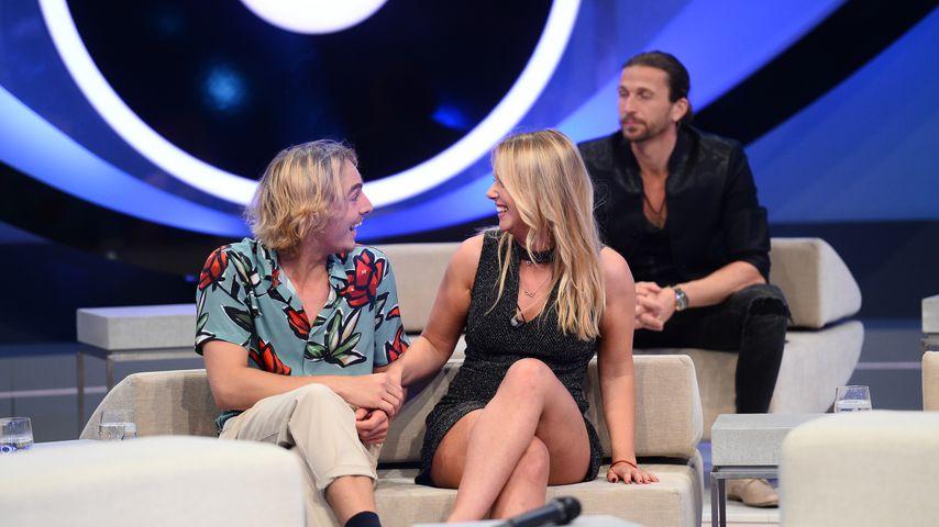 """Tim und Rebecca im Finale von """"Big Brother"""""""