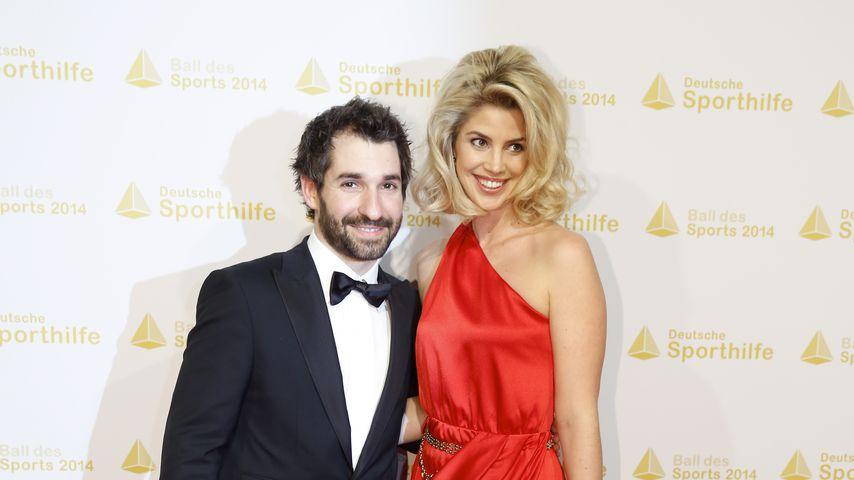Timo Glock und seine Frau Isabell, 2014