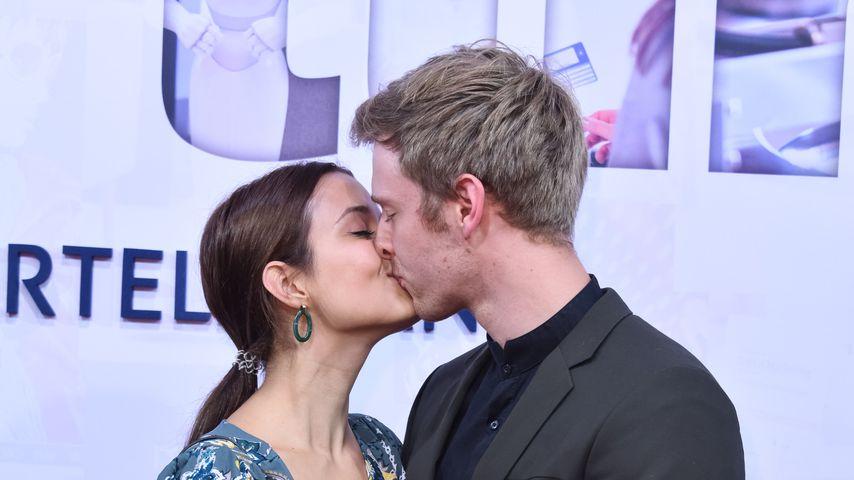 Timur Bartels mit seiner Freundin Michelle