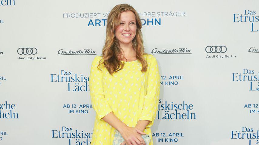 Nina Eichinger auf einer Filmpremiere in Berlin
