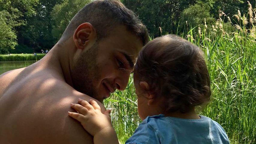 Timur Ülker und seine Tochter Illeya