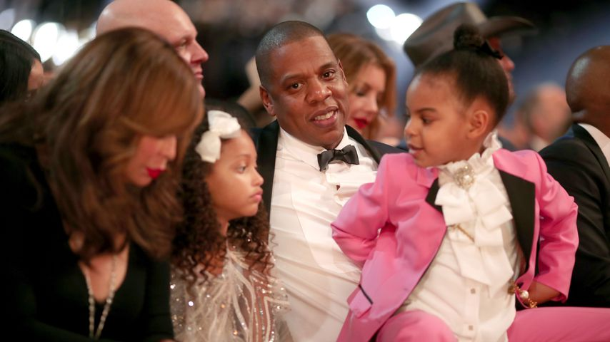 Tina Knowles, Madison Brown, Jay-Z und Blue Ivy Carter