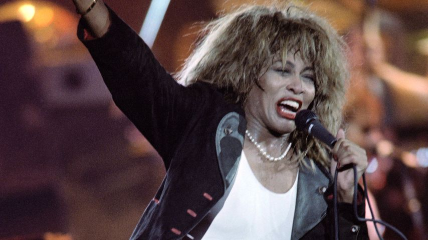 Tina Turner im Palais Omnisports in Paris, 1987