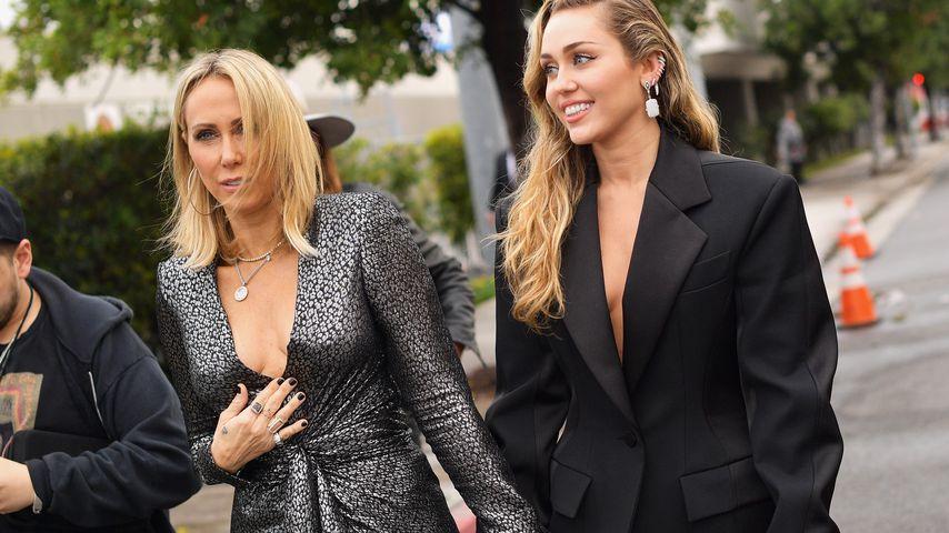 Tish Cyrus und Miley Cyrus
