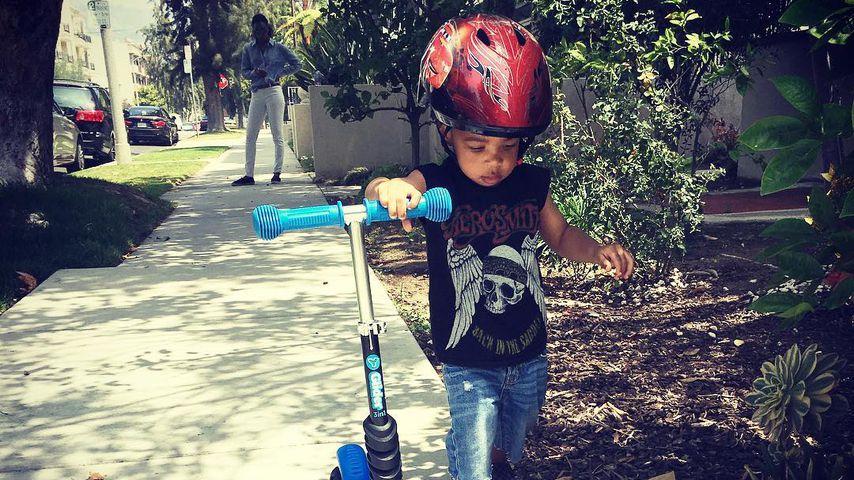 Titan Jewell Witherspoon, Sohn von Kelly Rowland und Tim Witherspoon