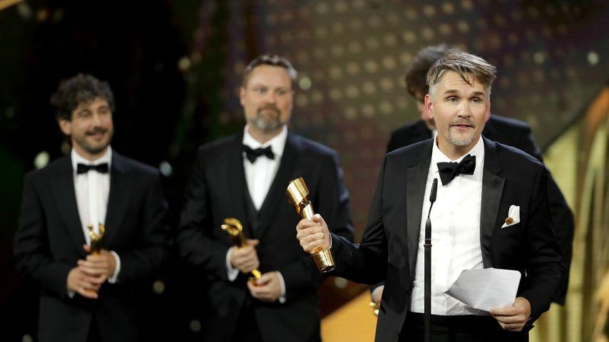 """Tobias Fleig, Gewinner der Kategorie """"Beste Tongestaltung"""" beim Deutschen Filmpreis 2019"""