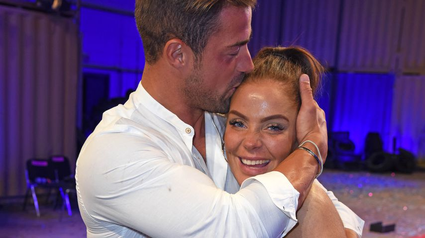 """Tobias Wegener und Janine Pink nach dem """"Promi Big Brother""""-Finale 2019"""