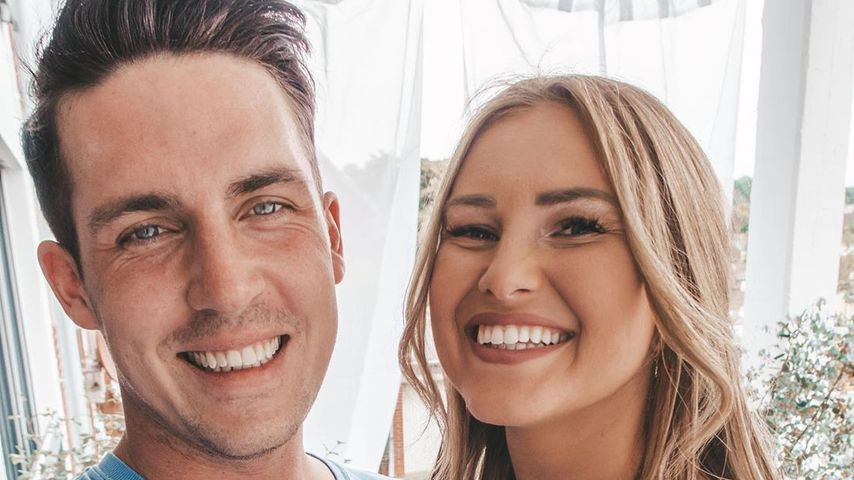 Tobias Wolf mit seiner Frau Maren im Mai 2019