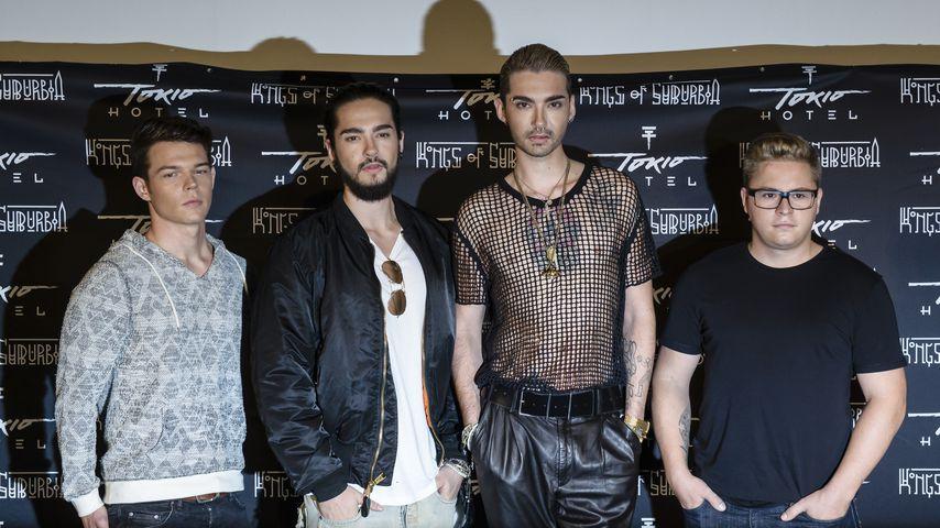 Tokio Hotel im Oktober 2014