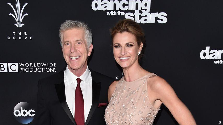 "Tom Bergeron und Erin Andrews, ehemalige ""Dancing with the Stars""-Moderatoren"
