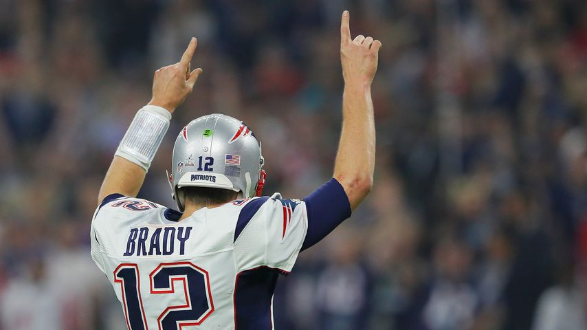Tom Brady beim Super Bowl 2017 in Houston