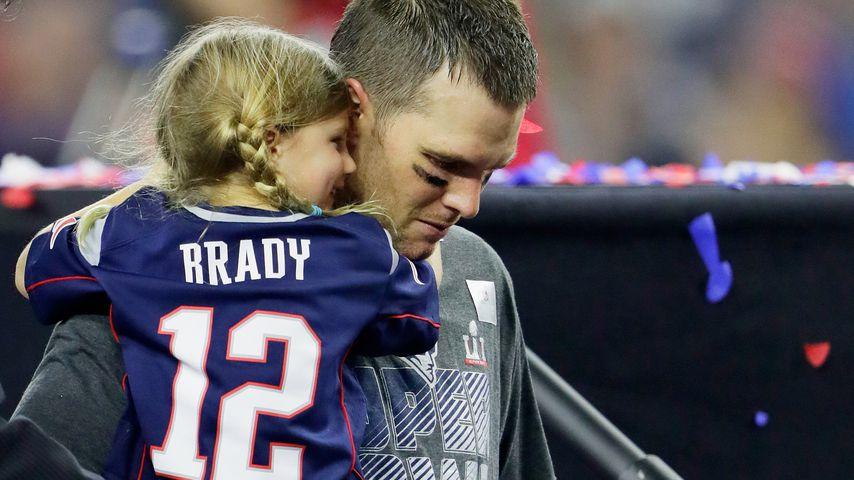 Tom Brady und seine Tochter Vivian