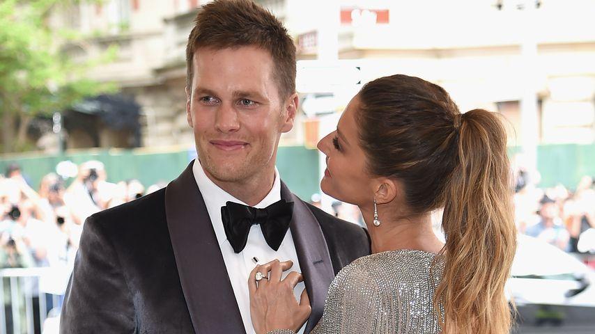 Tom Brady und Gisele Bündchen bei der MET Gala 2017