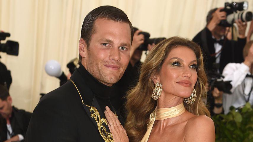 Tom Brady und Gisele Bündchen auf der Met Gala 2018